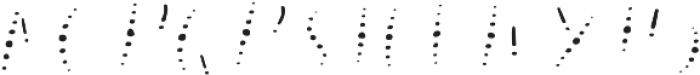 Lucky Dip Annabelle Pattern otf (400) Font UPPERCASE