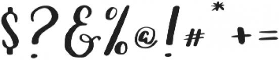 Lucky Dip Caitlin otf (400) Font OTHER CHARS