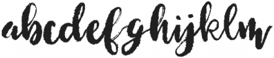 Lucky Dip Dramatic otf (400) Font LOWERCASE