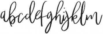 Lucky Dip Famed otf (400) Font LOWERCASE