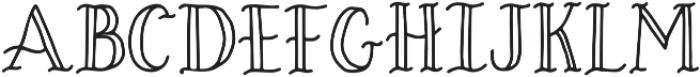 Lucky Dip Felicity otf (400) Font LOWERCASE