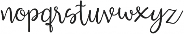 Lucky Dip Inspirations otf (400) Font LOWERCASE