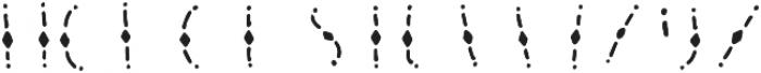Lucky Dip Joseph pattern otf (400) Font UPPERCASE