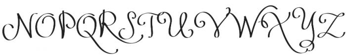 Lucky Dip Ribbon otf (400) Font UPPERCASE