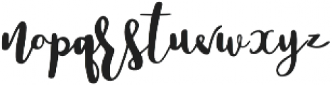 Lucky Dip Tristan otf (400) Font LOWERCASE