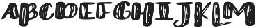 Lucky Dip otf (400) Font UPPERCASE