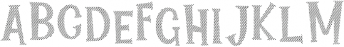 Lucky Fortune Lined otf (400) Font LOWERCASE