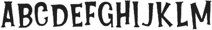 Lucky Fortune Rough otf (400) Font UPPERCASE