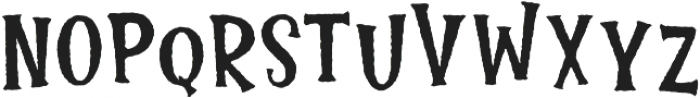 Lucky Fortune Rough otf (400) Font LOWERCASE