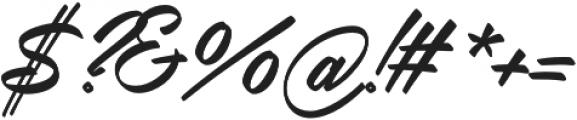 Lucky Lady otf (400) Font OTHER CHARS