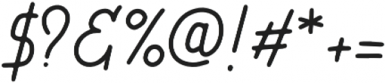 Lucky Station otf (400) Font OTHER CHARS