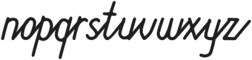 Lucky Station otf (400) Font LOWERCASE