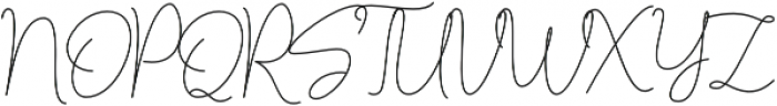 Lucylane otf (400) Font UPPERCASE