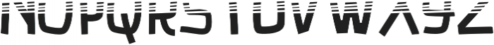Luducudu Gradient otf (400) Font UPPERCASE