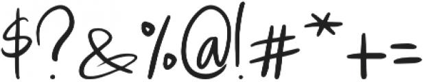 Lulla Font Regular otf (400) Font OTHER CHARS