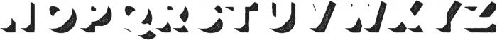 Lulo Four Bold otf (700) Font UPPERCASE