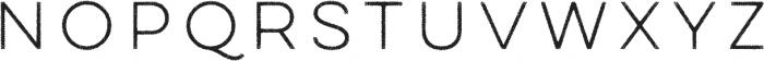 Lulo One otf (400) Font LOWERCASE