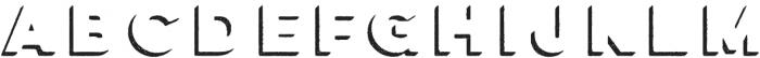 Lulo Three Bold otf (700) Font LOWERCASE