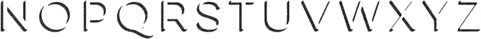Lulo Three otf (400) Font UPPERCASE