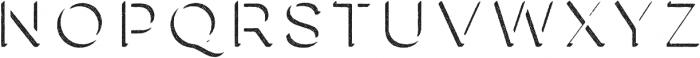 Lulo Three otf (400) Font LOWERCASE