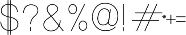 Luma SemiBold otf (600) Font OTHER CHARS