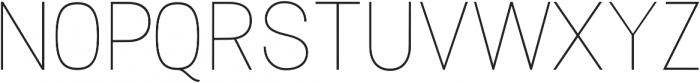 Luma SemiBold otf (600) Font UPPERCASE