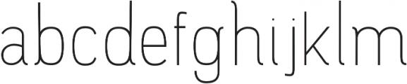 Luma SemiBold otf (600) Font LOWERCASE