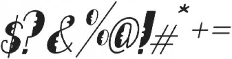 Lumberjack otf (400) Font OTHER CHARS