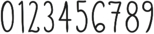 Lumi Regular otf (400) Font OTHER CHARS