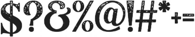LumieraRough Regular otf (400) Font OTHER CHARS