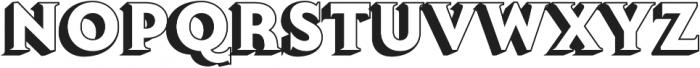 Lumiere Eleven otf (400) Font UPPERCASE