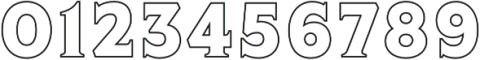 Lumiere Five otf (400) Font OTHER CHARS