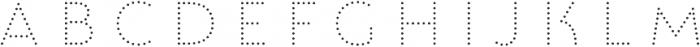 Lumiere Seven otf (400) Font LOWERCASE