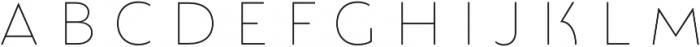 Lumiere Six otf (400) Font UPPERCASE