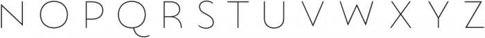 Lumiere Six otf (400) Font LOWERCASE