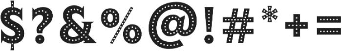 Lumiere Thirteen otf (400) Font OTHER CHARS