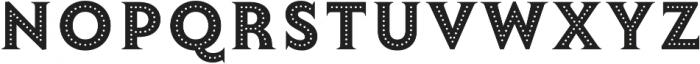 Lumiere Thirteen otf (400) Font UPPERCASE