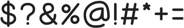 Luna otf (500) Font OTHER CHARS