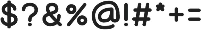 Luna otf (700) Font OTHER CHARS