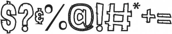 Lunare otf (400) Font OTHER CHARS