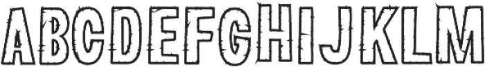 Lunare otf (400) Font UPPERCASE