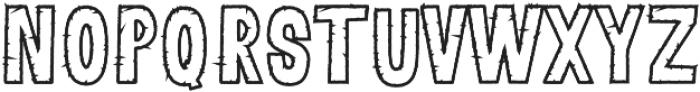 Lunare otf (400) Font LOWERCASE