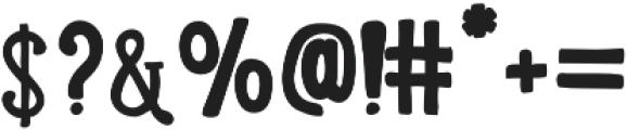 LunchBox Slab Bold otf (700) Font OTHER CHARS