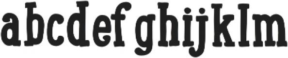 LunchBox Slab Bold otf (700) Font LOWERCASE