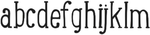 LunchBox Slab otf (300) Font LOWERCASE