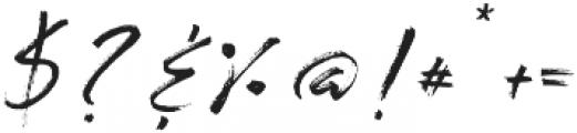 LushBlue Alt2 ttf (400) Font OTHER CHARS
