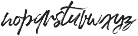 LushBlue Alt2 ttf (400) Font LOWERCASE