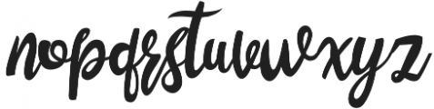 Lustinmal otf (400) Font LOWERCASE