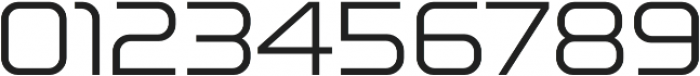 Lustra Light otf (300) Font OTHER CHARS