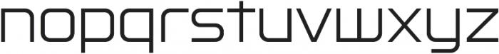 Lustra Light otf (300) Font LOWERCASE